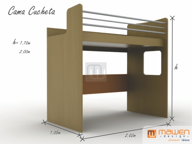 Cama Abatible Horizontal 135 Decoracin De
